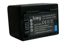 TROY battery for Canon BP727 BP-727 Legria HF M50 M506 R306 R406 R506  InfoChip