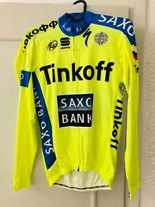 Tinkoff-Saxo long sleeve summer aero jersey