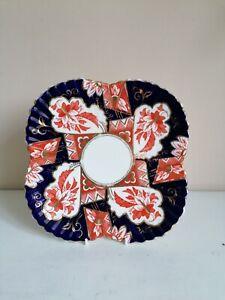"""Antique Wileman """"Imari"""" (3690) Cabinet Plate"""