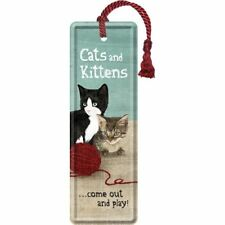 Nostalgic-art - Signet - 5x15cm - Cats and Kittens
