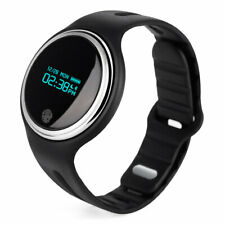 Smart Watch Wristband Bracelet 4.0 LED Display Fitness Walking Pedometer Clock B