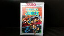 Atari 7800 Donkey Kong Junior retro cartridge game from 1988sealed - UNTESTED