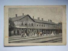 MISKOLC UNGHERIA Hungary stazione BAHNHOF AK postcard  Kuk K.u.K. Trieste 97 °