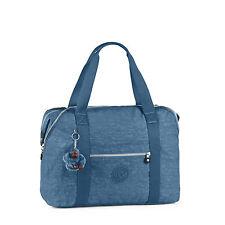 BNWT Kipling ART M Medium Travel Tote Bag in JAZZY BLUE - Fall 2016 RRP £94