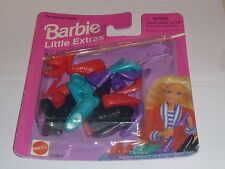 "Barbie Shoes - MIP Little Extras ""Shoe Pack  "" "" NEW "" By Mattel 4 Styles"
