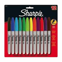Sizzix Accessory Permanent Pens Assorted ColoursSet of 12