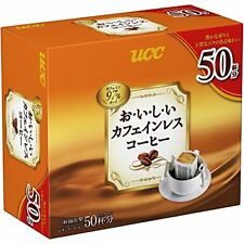 UCC Caffeine-less Drip Coffee 7g×50P From Japan