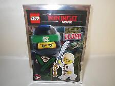 LEGO Ninjago Lloyd Minifigure with Two Faces and Ninja Sword Foil Pack Set 47...