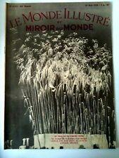 Miroir du Monde 28/5/1938  Le char de la lumière noire