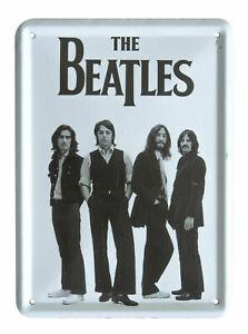 The Beatles IN STEREO VINYL BOX SET Metal Sign Steel Fridge Magnet (8cm x 11cm)