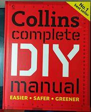 Collins Complete DIY Manual by Day, David Hardback