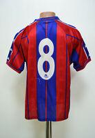 BARCELONA SPAIN 1997/1998 MATCH WORN ISSUE FOOTBALL SHIRT JERSEY KAPPA #8 SIZE S