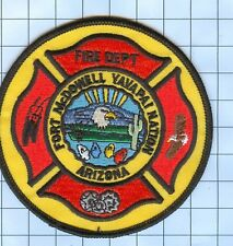 Fire Patch - FORT MCDOWELL YAVAPAI NATION AZ