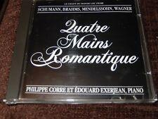PHILIPPE CORRE & EDOUARD EXERJEAN QUATRE-MAINS ROMANTIQUE ~ LE CHANT DU MONDE CD