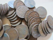 Roll of 1950 Canada Small Cents (50 George VI Coins).
