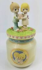 Precious Moments Candle Figurines Couple Jar Candle 2004 30th Year Anniversary