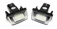 Für Citroen C3 C4 Berlingo Saxo Xsara LED Kennzeichen Beleuchtung Nummernschild