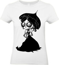Victorian Girl T-Shirt Mens Womens Steampunk Tim Burton Alice Emo Ladies top