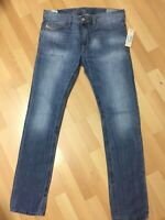 Mens Diesel THAVAR MEDIUM WEIGHT DENIM 0826D Blue Slim W31 L32 H6 RRP£150