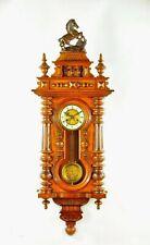 Amazing German Antique Kienzle Keyhole Spring Driven Wall Clock approx.1900