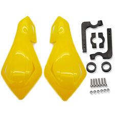 """7/8"""" Dirt Bike Dirtbike ATV Motorcycle Brush Bar Hand Guards Handguard Yellow"""