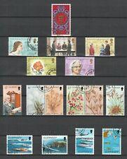 Bus 182) Großbr./Guernsey: Hübsches Lot gestempelt mit 5 Pfundmarke ! 4 Scans! !