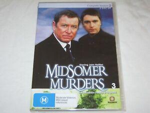 Midsomer Murders - Season 3 - 2 Disc Set - Brand New & Sealed - Region 0 - DVD