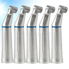 5X Dental E-Generator Fiber Opitc Handstück Winkelstück blau mit Licht für Kavo