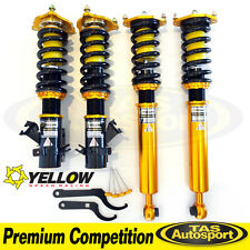 YELLOW-SPEED COILOVERS SUSPENSION NISSAN SILVIA S14 Premium Competition
