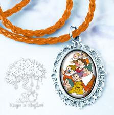 Seven Dwarfs Necklace - Handmade Children's Jewelry - Seven Dwarfs Disney