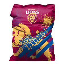Brisbane Lions Bean Bag GIANT BIG AFL Aussie Rules Christmas Gift SALE