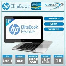 HP EliteBook 810 G2 Light Laptop Core i5 8GB 180GB SSD Windows 10 NoteBook PC