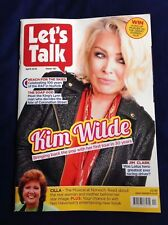Let's Talk Magazine April 2018 (NEW) Kim Wilde Cilla Black RAF Coronation Street