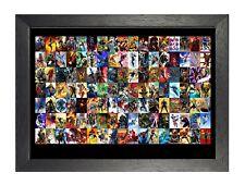 Marvel #1 Poster Superheroes Pictures Captain America Hulk Iron Man Batman Print