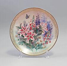 99840330 Porzellan Bildteller Sammelteller W.S. George 1991 Shimmering Beauty
