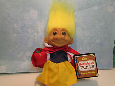 """SNOW WHITE - 5"""" Russ Story Book Troll Doll - NEW IN ORIGINAL WRAPPER"""