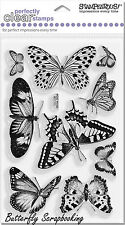 Butterflies Butterfly Perfectly Clear Unmounted Stamps Set Stampendous NEW