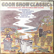 GOON SHOW CLASSICS-NM1974LP PETER SELLERS/SPIKE MILLIGAN/HARRY SECOMBE BBC RADIO