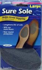 6 PAIR J T Foote Sure Sole Anti Skid No Slip Shoe Pads Patch Repair 12 LARGE