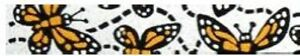 Beastie Band Cat Collars - =^..^= Purrfectly Comfy - MONARCH BUTTERFLY