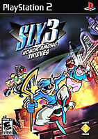 Sly 3: Honor Among Thieves BLACK LABEL (Sony PlayStation 2, 2005) NEW-SEALED PS2