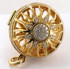 Thomas Sabo Anhänger Sonne Medaillon PE702-414-14,925/-Silber vergoldet,UVP 398€