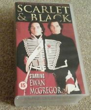 SCARLET & BLACK Stendhal Ewan McGregor BBC TV 2 x VHS videos