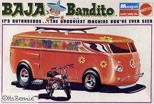 1970s MONOGRAM Baja Bandito model replica fridge magnet - new!