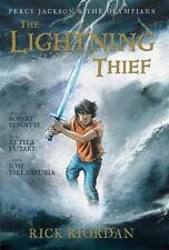 Percy Jackson & the Olympians The Lightning Thief by Rick Riordan (Hardcover)NEW