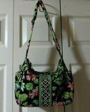 "Vera Bradley  Retired  Botanica  ""On The Go""  Crossbody / Shoulder Bag"