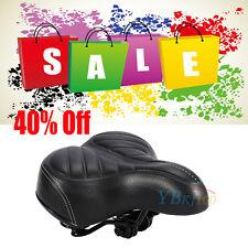 Sports Wide Big Bum Extra Comfy Bike Bicycle Gel Cruiser Soft Pad Saddle Seat UK