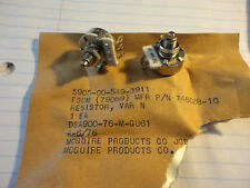2PCS CTS 100K LOG  A-TAPER 1WATT POTENTIOMETER