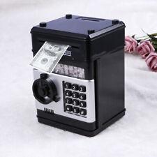 Kids Code Coin Cash Money Saving Deposit Box Electronic Password Voice Bank Safe