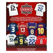 2019 Leaf Autographed Multi-Sport Jersey Edition Box